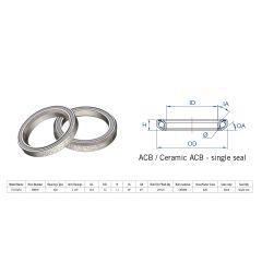 "160-0030000000 Rulment cuvete FSA TH-873/DJ ACB 36x45 1""1/8 singleS MR04"
