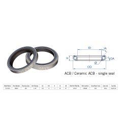 "160-0014000000 Rulment cuvete FSA TH-873E ACB 36x45 1""1/8 SingleS MR122"