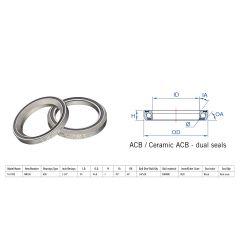"160-0018000000 Rulment cuvete FSA TH-970E ACB 45x45 1""1/4 dualS MR168"