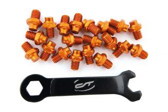 3369865 Pini pedale CONTEC R-pins Select- orange 20buc - incl. cheie