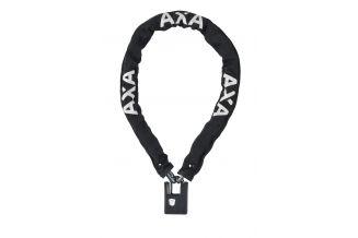 59003295SS Incuietoare cu lant AXA Clinch 85x6 Black soft