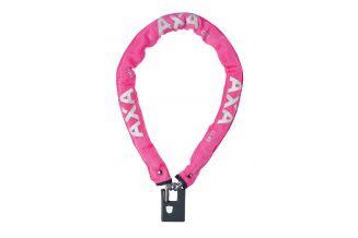 59003297SS Incuietoare cu lant AXA Clinch 85x6 Pink soft