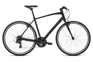 Bicicleta SPECIALIZED Sirrus - V-Brake - Men's Spec - Black/Black Reflective/Gloss Black L