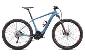 Bicicleta SPECIALIZED Turbo Levo Hardtail - Storm Grey/Rocket Red XS