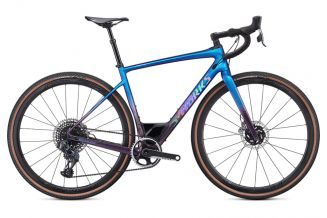 Bicicleta SPECIALIZED S-Works Diverge - SRAM eTap AXS - Gloss Chameleon-Sunset Chameleon Fade/Hologr