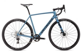 Bicicleta SPECIALIZED Crux Elite - Gloss Storm Grey/Tarmac Black 46