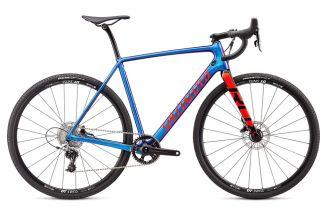 Bicicleta SPECIALIZED Crux Elite - Gloss Chameleon/Rocket Red/Black 52