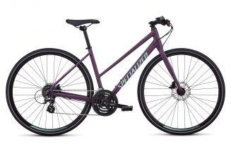 Bicicleta SPECIALIZED Sirrus Step-Through - Women's Spec - Cast Berry/Mint S