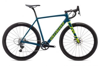 Bicicleta SPECIALIZED Crux Expert - Gloss Dusty Turquoise/Hyper 54