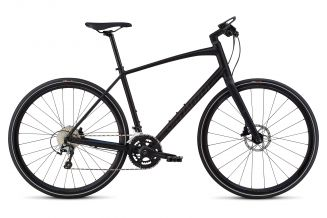Bicicleta SPECIALIZED Sirrus Elite Alloy - Men's Spec - Black/Nearly Black/Gloss Purple Chameleon M