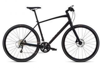 Bicicleta SPECIALIZED Sirrus Elite Alloy - Men's Spec - Black/Nearly Black/Gloss Purple Chameleon L