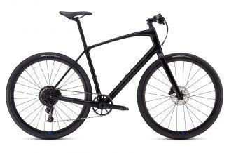 Bicicleta SPECIALIZED Sirrus X Comp Carbon - Men's Spec - Tarmac Black/Nice Blue/Black Reflective S