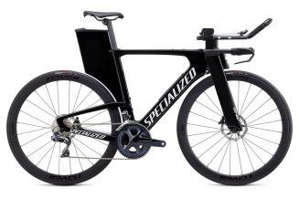 Bicicleta SPECIALIZED Shiv Expert Disc - Gloss Carbon/Metallic White Silver/Clean XS