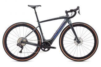 Bicicleta SPECIALIZED Turbo Creo SL Expert EVO - Black Granite/Green Blue Chameleon M