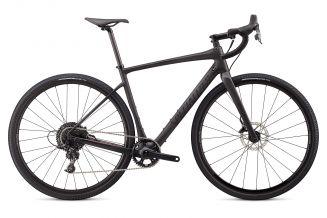 Bicicleta SPECIALIZED Diverge X1 - Satin Carbon/Black Reflective/Dusty Lilac Camo 56