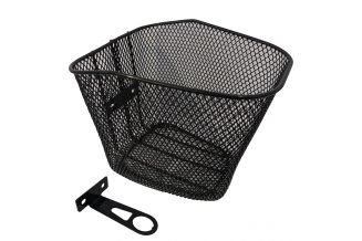 13504050 Cos bicicleta CROSSER negru + suport