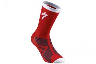Sosete SPECIALIZED SL Elite Winter - Red/White S
