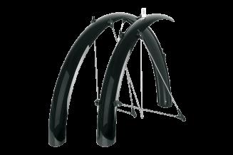 Aripi SKS Bluemels Shiny 28'' 60 negru - set