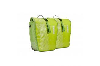 Geanta portbagaj THULE Shield Pannier stanga/dreapta - Chartreuse - L