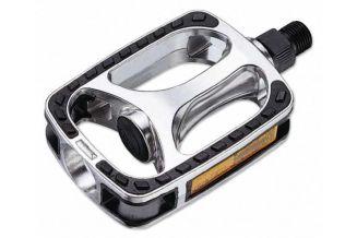Pedale CROSSER VP-608 - aluminiu - gri/negru