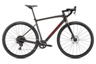 Bicicleta SPECIALIZED Diverge Base Carbon - Gloss Smoke/Redwood/Chrome/Clean 58