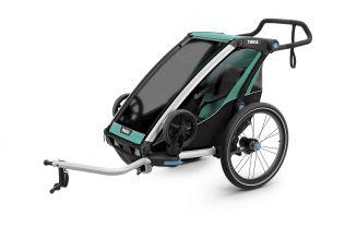 Carucior sport THULE Chariot Lite 1 - Blue Grass/Black