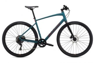 Bicicleta SPECIALIZED Sirrus X 2.0 - Dusty Turuoise/Black/Rocket Red S