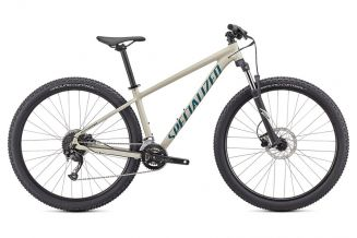 Bicicleta SPECIALIZED Rockhopper Sport 29 - Gloss White Mountains/Dusty Turquoise L