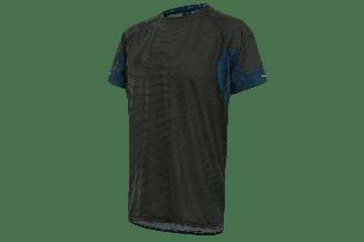 Tricou alergare FUNKIER Cassoti - Negru/Albastru S