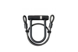 Incuietoare U AXA Newton Pro UL MINI 150/14 + cablu 100*8mm - Negru