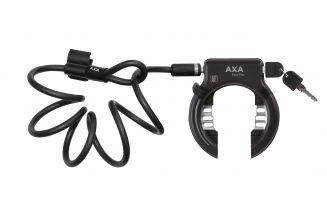 59511095SC Incuietoare roata AXA SOLID PLUS + PI Newton negru standard