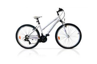 Bicicleta CROSS Julia 26'' - Alb/Mov 480mm