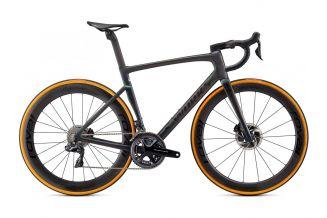Bicicleta SPECIALIZED S-Works Tarmac SL7 - Dura Ace Di2 - Carbon/Color Run Silver Green 56