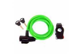 Incuietoare cablu CROSSER CL-823 10x1800mm - Verde