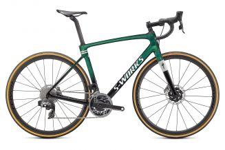 Bicicleta SPECIALIZED S-Works Roubaix - SRAM Red eTap AXS - Gloss Green Tint 61