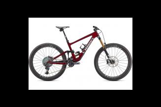 Bicicleta SPECIALIZED S-Works Enduro - Gloss Red Tint/Spectraflair/Metallic White Silver S2