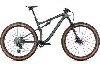 Bicicleta SPECIALIZED S-Works Epic Evo - Gloss Oak Green Metallic/Diamond Dust L