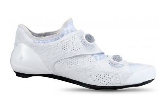 Pantofi ciclism SPECIALIZED S-Works Ares Road - White 42