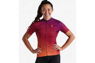 Tricou SPECIALIZED Women's RBX Comp SS - Orange Sunset/Violet S