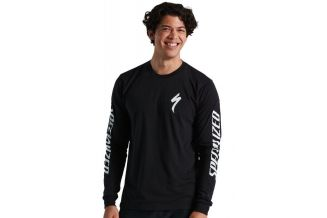Bluza SPECIALIZED Men's Long Sleeve T-Shirt - Black L