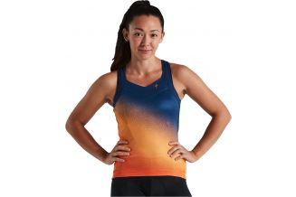 Maiou SPECIALIZED Women's SL - Orange Sunset/Dark Blue XL