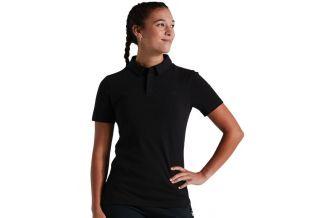 Tricou polo SPECIALIZED Women's Legacy - Black L
