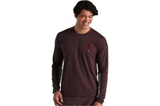 Tricou SPECIALIZED Men's Trail LS - Cast Umber S