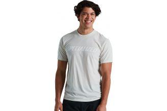 Tricou SPECIALIZED Men's Wordmark - Dove Gray XXL