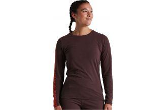 Tricou SPECIALIZED Women's Trail LS - Cast Umber XL
