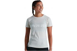 Tricou SPECIALIZED Women's Wordmark - Dove Grey S