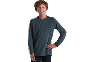 Tricou SPECIALIZED Youth Trail LS - Cast Battleship M