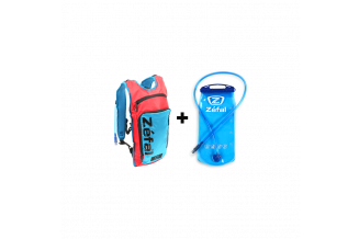 Rucsac hidratare ZEFAL L Z-Hydro - Rosu/Albastru