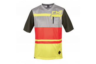 Tricou TSG SP5 S/S - Red Limeyellow XS