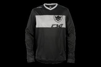 Tricou TSG Waft L/S - Black Grey L